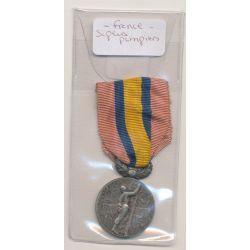 Médaille - Sapeurs pompiers