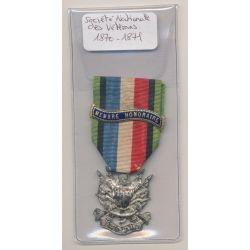 Médaille - Société nationale des vétérans - 1870-1871