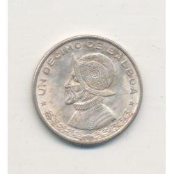 Panama - 1/10 Balboa - 1961 - argent