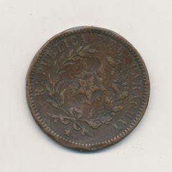 Panama - 2 centesimos - 1870