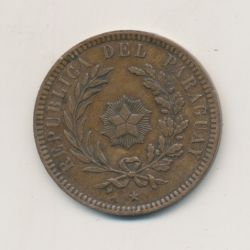 Paraguay - 2 centesimos - 1870