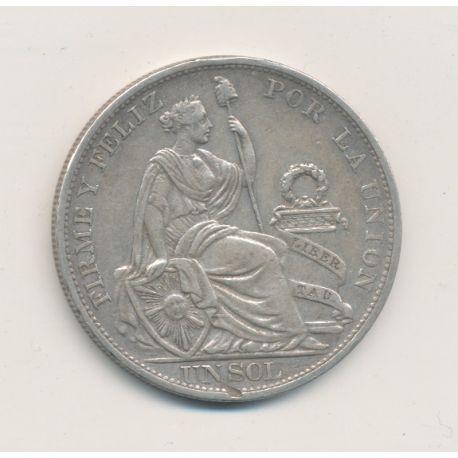 Pérou - Sol - 1894 - argent