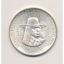 Pérou - 50 Soles - 1971 - argent