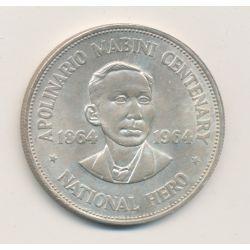 Philippines - 1 Peso - 1907 S - argent