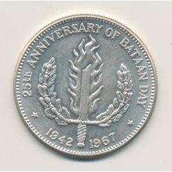 Philippines - 1 Peso - 1967 - argent