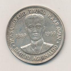 Philippines - 1 Peso - 1969 - argent