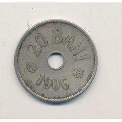 Roumanie - 20 bani - 1906