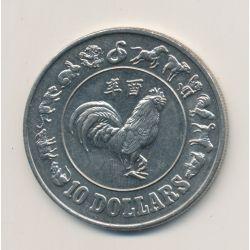 Singapour - 10 Dollars - 1981