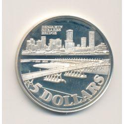 Singapour - 5 Dollars - 1982