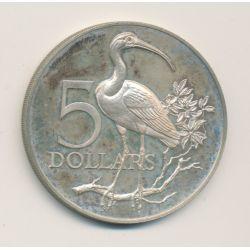Trinidad et Tobago - 5 Dollars - 1975