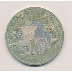 Trinidad et Tobago - 10 Dollars - 1975