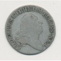 Allemagne - Prusse - 4 Groschen - 1797 A