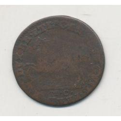 Allemagne - Prusse - 1 Pfennig - 1798