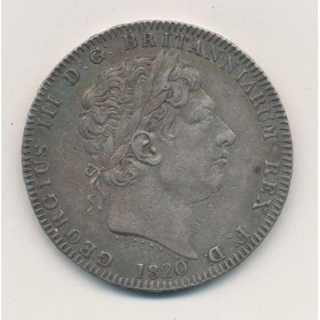 Angleterre - George III - Crown - 1820