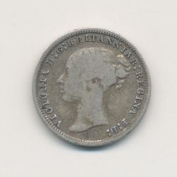 Angleterre - Victoria - 3 Pence - 1874
