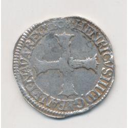 Henri IV - 1/4 écu - 1608 C St Lo