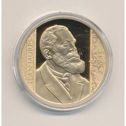Médaille - Jean Jaurès - Collection les plus grands Français