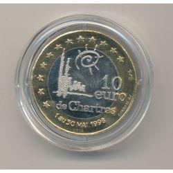 10 Euro 1998 - Chartres - avec écrin
