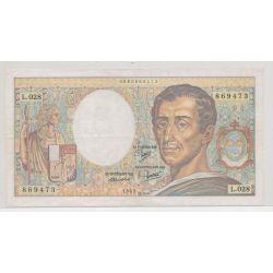 200 Francs Montesquieu - absence taille douce - 869473 - L.028