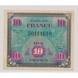 10 Francs Drapeau - 1944 - sans série