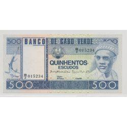 Cap vert - 500 escudos - 1977 - NEUF