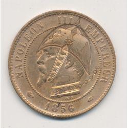 Monnaie satirique - 10 centimes 1856 A - casque à pointe - Napoléon III