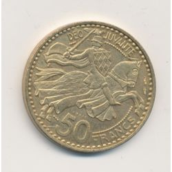 Monaco - 50 Francs 1950 essai - Rainier III