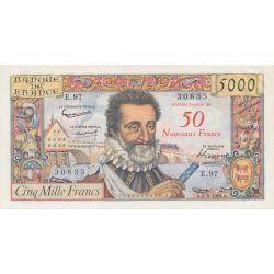 50NF/5000f Henri IV 5.03.1959