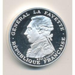Piéfort 100 Francs La Fayette 1987 belle épreuve