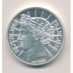 Piéfort 100 Francs Fraternité 1988 brillant universel