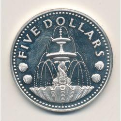 Barbades - 5 Dollars - 1977
