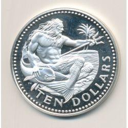 Barbades - 10 Dollars - 1977