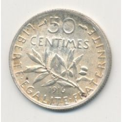 50 Centimes Semeuse - 1916