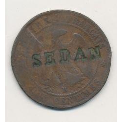 Monnaie satirique - 10 centimes 1856B - Sedan