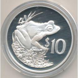 Fidji - 10 Dollars 1986 - grenouille