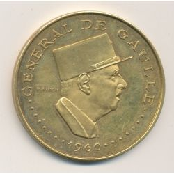 Tchad - 10000 Francs 1960 - Général De Gaulle