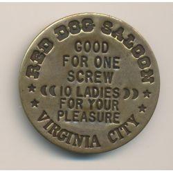 Jeton 3$ al night - Maison Close - Red dog saloon - Virginia city