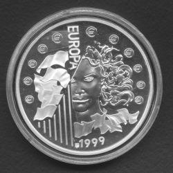 6,22957 Francs - 1 Euro Europa 1999