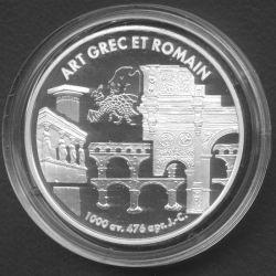 6,22957 Francs - 1 Euro Art grec et romain 1999