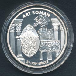 6,22957 Francs - 1 Euro Art roman 1999