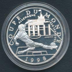 10 Francs Coupe du monde 98 - Allemagne 1997
