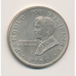 Philippines - 1 Peso - 1970 - argent