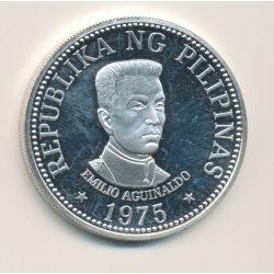 Philippines - 25 Piso - 1975 - argent